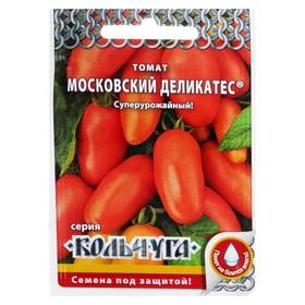 Семена Томат 'Московский деликатес' серия Кольчуга, среднеспелый, 0,1 г Ош