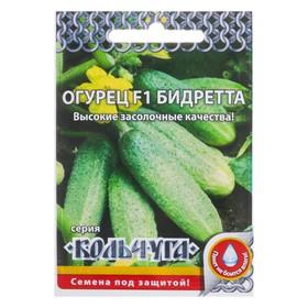 """Семена Огурец """"Бидретта"""" F1 серия Кольчуга, раннеспелый, партенокарпический, 12 шт"""