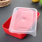 Набор контейнеров прямоугольных 0,9 л, 3 шт, цвет МИКС - Фото 4