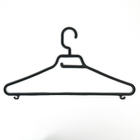 Набор вешалок для одежды, размер 48-50, 5 шт, цвет чёрный