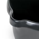 Ведро с мерной шкалой 12 л, цвет чёрный - Фото 4