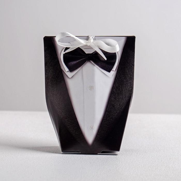 Бонбоньерка «Для него», 8 × 10 × 3 см