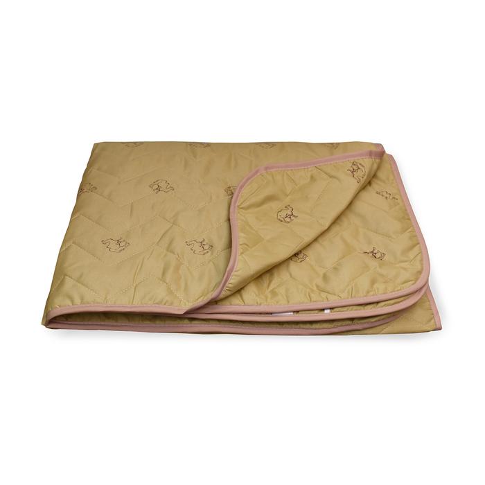 Одеяло Верблюд стеганое облегченное 200х220 см, полиэфирное волокно 150 гр/м2, п/э 100%