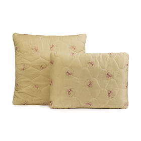 Подушка Овечья шерсть 50х70 см, полиэфирное волокно, п/э 100%
