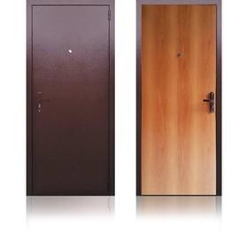 Сейф-дверь «Берлога ЭК2», 970 × 2050 мм, левая, цвет миланский орех