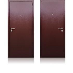 Сейф-дверь «Берлога СБ-3», 870 × 2050 мм, левая, цвет медный антик