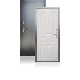 Входная дверь ARGUS «ДА-61», 970 × 2050 мм, правая, цвет белый ясень