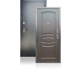 Входная дверь ARGUS «ДА-61», 870 × 2050 мм, правая, цвет венге тиснённый