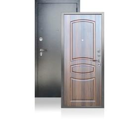 Входная дверь ARGUS «ДА-61», 980 × 2100 мм, левая, цвет коньяк статус
