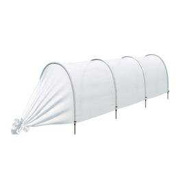 Парник прошитый «Ленивый», длина 3.5 м, 4 дуги из пластика, дуга L = 2 м, d = 20 мм, укрывной материал 35 г/м² Ош