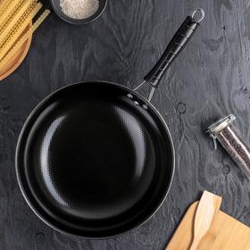 Сковорода-Wok «Просто», d=32 см, цвет чёрный