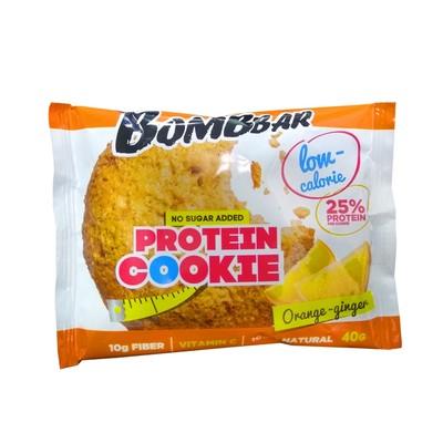 Протеиновое печенье BOMBBAR, апельсин-имбирь, 40 г - Фото 1