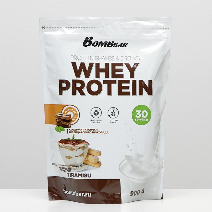 Протеиновый коктейль BOMBBAR, тирамису, 900 г