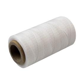 Нитки прошивочные, вощёные, 300D, толщина 0,95 мм, 200 м, белые Ош