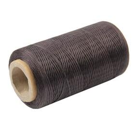 Нитки прошивочные, вощёные, 150D, толщина 0,55 мм, 200 м, фиолетовые Ош