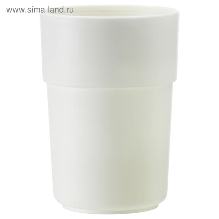 Стакан для зубных щеток ЭНУДДЭН, белый