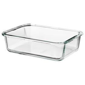 Контейнер для продуктов ИКЕА 365, 1 л, стекло