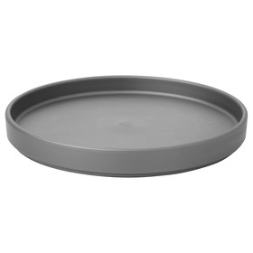 Крышка поднос СТЭЛЛА, 13 см, серый