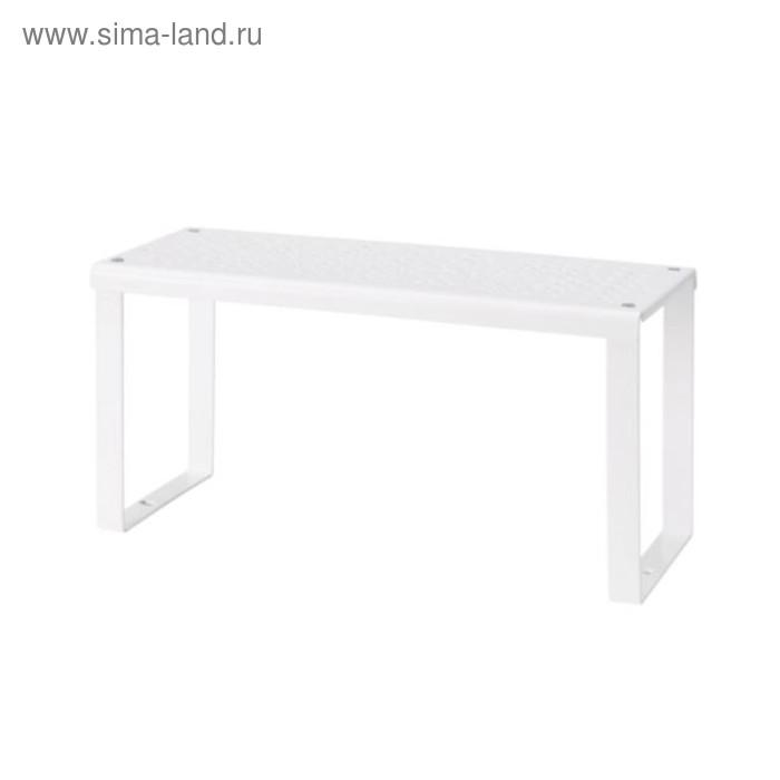 Вставка в полку ВАРЬЕРА, 32x13x16 см, белый