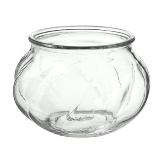 Ваза ВИЛЬЕСТАРК, 8 см, прозрачное стекло