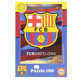Пазл «ФК Барселона», 100 деталей