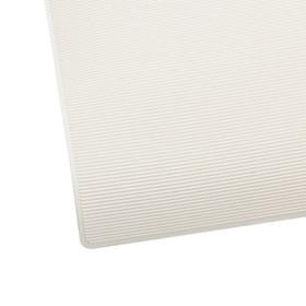 Обтяжка каблучная полиуретановая Line, 320 × 280 × 1,2 мм, белый Ош