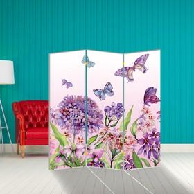 Ширма 'Бабочка. декор 9', 160 × 150 см Ош