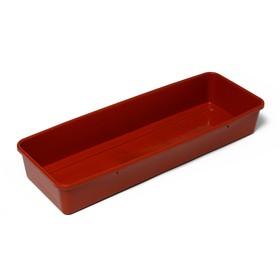 Ящик для рассады, 58 × 20 × 9 см, МИКС Ош