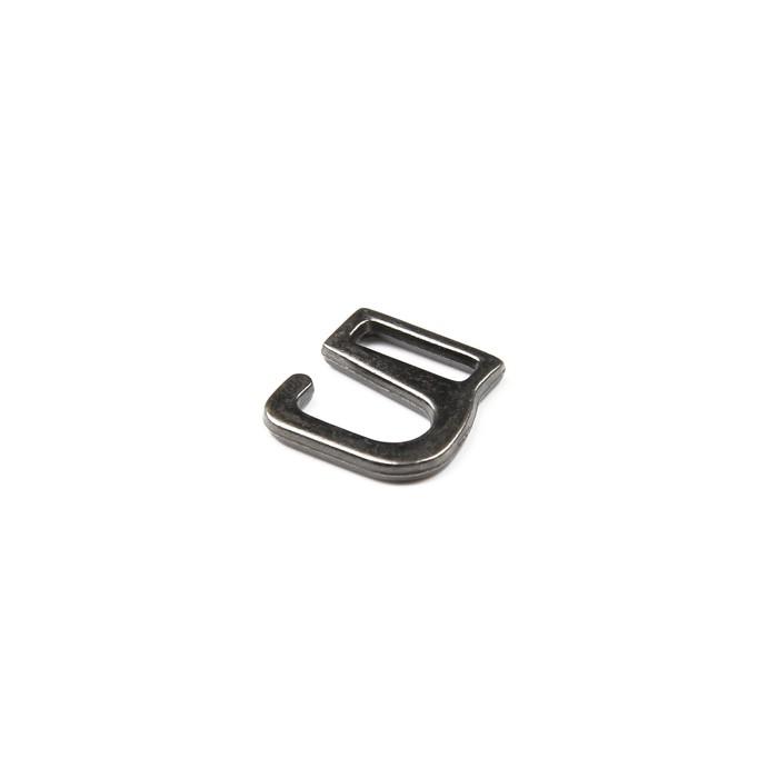 Крючки для босоножек, 6 мм, цвет тёмный никель