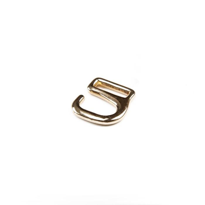 Крючки для босоножек, 6 мм, цвет золото
