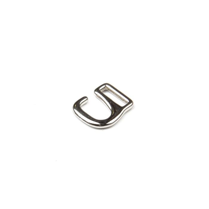 Крючки для босоножек, 8 мм, цвет никель