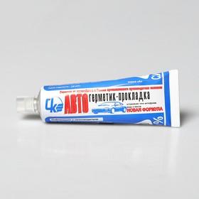 Автогерметик-прокладка силиконовый, 65 г Ош