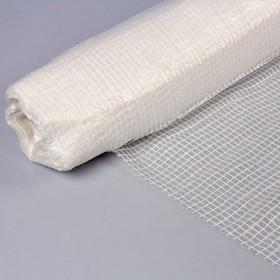 Плёнка полиэтиленовая, армированная, толщина 80 мкм, 25 × 2 м, белая