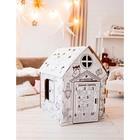 Дом-раскраска из картона «Мой домик» - Фото 2