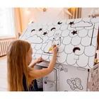 Дом-раскраска из картона «Мой домик» - Фото 5