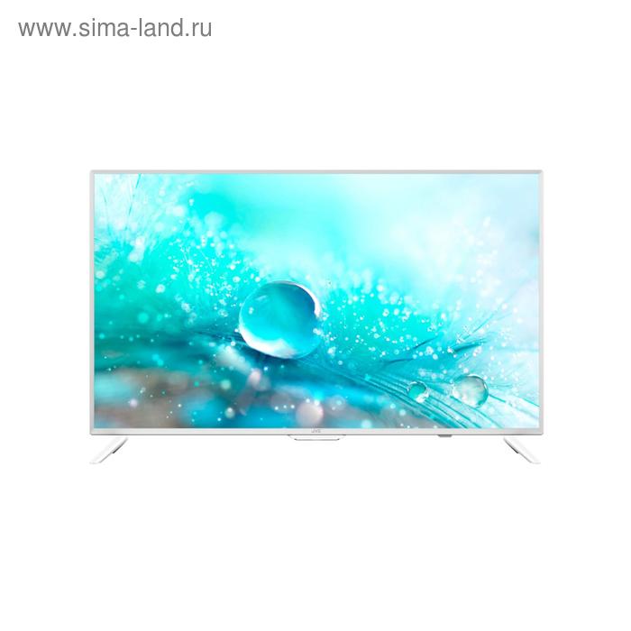 "Телевизор JVC LT-32M585W, 32"",1366x768, DVB-T2, DVB-C, DVB-S2, 3xHDMI, 2xUSB, SmartTV, белый   41376"