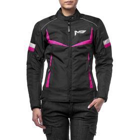 Куртка женская ASTRA черно-розовая, XL Ош