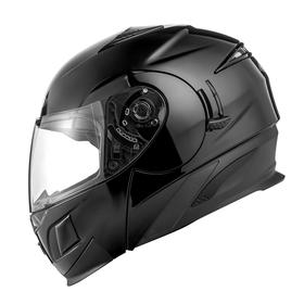 Шлем модуляр ZS-3020 черный глянец, S Ош