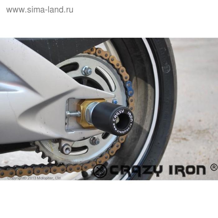 Слайдеры для GSX 1300 BK B-King, ось заднего колеса