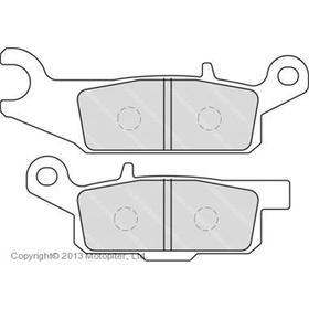 Колодки тормозные задние правые для квадроциклов Yamaha Grizzly 550/700, FDB2232SG Ош