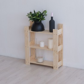 Этажерка деревянная 'ИТА-1', 50×16,5×54см Ош