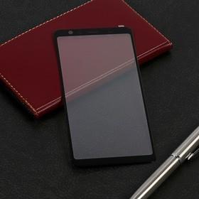Защитное стекло Mobius для Samsung A7 2018 3D Full Cover, черное