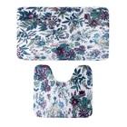 Набор ковриков для ванны и туалета «Цветочное поле», 2 шт: 40×50, 50×79 см