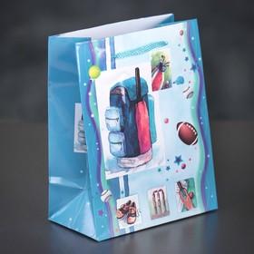Пакет ламинированный 'Спорт', 12 х 15 х 5 см Ош