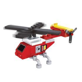 Конструктор «Вертолет спасателей», 26 деталей, в пакете Ош