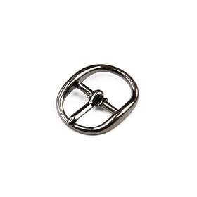 Пряжка для босоножек, 12 мм, цвет тёмный никель Ош
