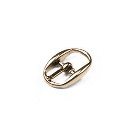 Пряжка для босоножек, 10 мм, цвет золото Ош