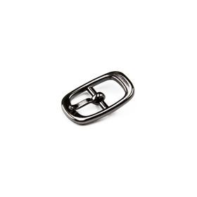 Пряжка для босоножек, 8 мм, цвет тёмный никель Ош