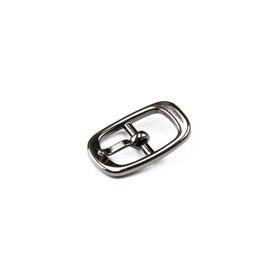 Пряжка для босоножек, 8 мм, цвет светлый никель Ош