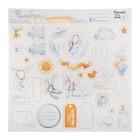 Чипборд с фольгированием на клеевой основе «Сказки перед сном», 30.5 × 30.5 см